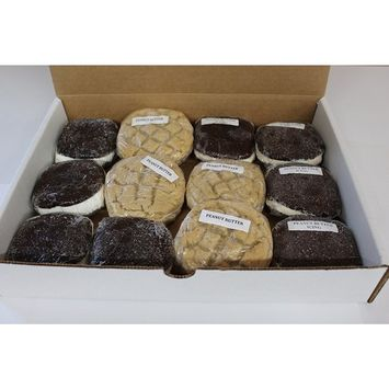 Chocolate Peanut Butter Lovers Whoopie Pies from Bird-in-Hand Bake Shop, Favorite Amish Food
