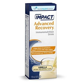 Nestle Healthcare Nutrition Impact Advanced, Vanilla, 15 CT