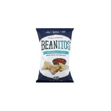 Beanitos Restaurant Style White Bean 6 Ounces (Pack Of 6)