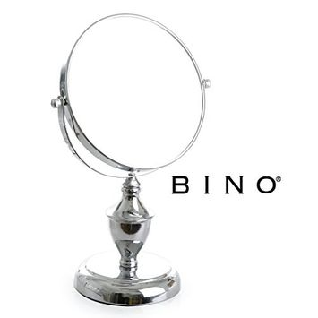 BINO 'Victoria' 6-Inch Double-Sided Mirror with 5x Magnification
