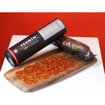 Chorizo Iberico de Bellota (acorn-fed) imported from Spain, 1 lb