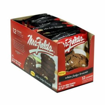 Mrs Fields Wht Fudge Brownie 12Ct - Pack Of 12