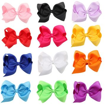 Hair Bows for Girls, Coxeer 16Pcs Hair Clips Hairpins Multicolor Non-slip Simple Design Accessories for Kids