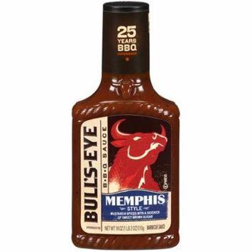 (4 Pack) Bull's-Eye Memphis Style Barbecue Sauce, 18 oz Bottle