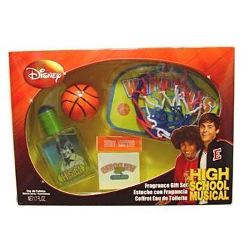 High School Musical by Disney 4 Piece Gift Set with Eau de Toilette Spray 1.7 for Men