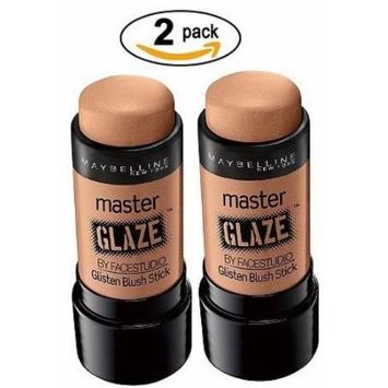 Maybelline Limited Edition Master Glaze By Facestudio Bronzer Stick - Glistening Amber 230 Pack of 2