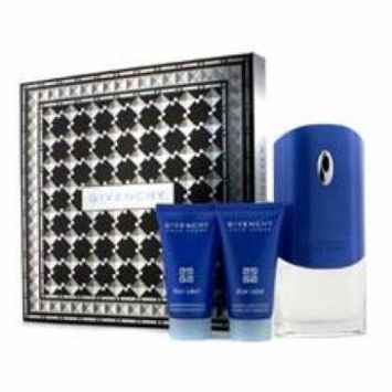 Givenchy Blue Label Coffret: Eau De Toilette Spray 100ml/3.3oz + Shower Gel 50ml/1.7oz + After Shave Balm 50ml/1.7oz For
