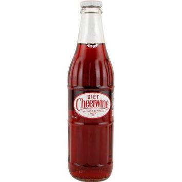 Diet Cheerwine Soda - 12 oz Cherry Pop Bottle: Single Bottle
