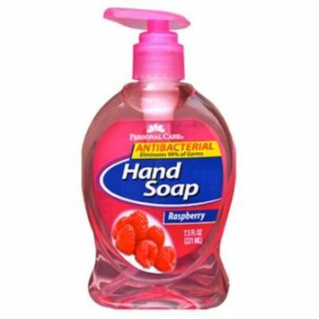 90664-8 Raspberry Anti-Bacterial Liquid Hand Soap - 7.5 oz., Pack of 12
