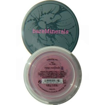bareMinerals New Rosy Outlook Blush a Berry Rouge Shade .85 g/.03 oz.