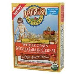 Earths Best Earth's Best Whole Grain Mixed Grain Cereal Apple Sweet Potato - 8 oz