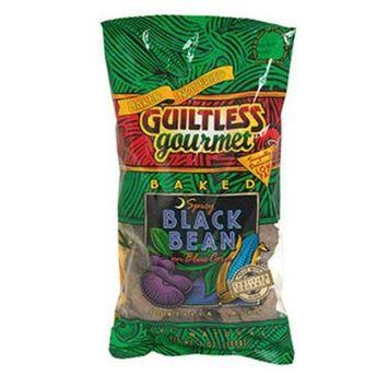 Guiltless Gourmet Spicy Black Bean Tortilla Chips, 7 oz (Pack of 12)