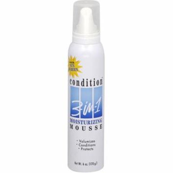 4 Pack - CONDITION 3-In-1 Moisturizing Mousse 6 oz
