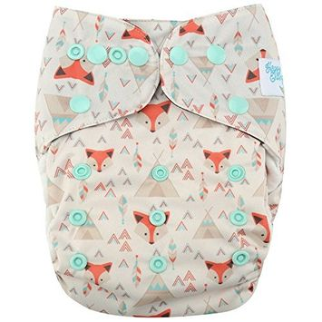 HappyEndings Contoured Day or Night All In One Cloth Diaper (+Pocket)
