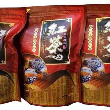 Chinese Breakfast Yunnan Dianhong Black Tea,5.3 oz Bag