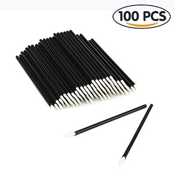 Shintop 100PCS Disposable Eyeliner Brush Applicator Disposable Fine Tip Cosmetic Eye Wands