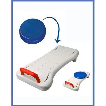 MOBB Deluxe Bath Transfer Board includes Optional Swivel Seat - Bath Transfer Bench Board
