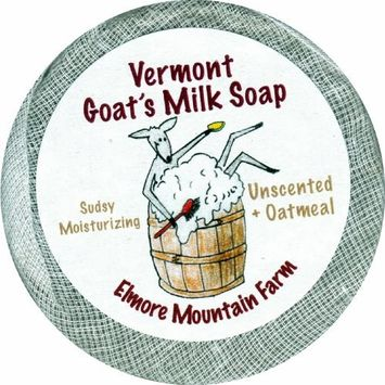 Elmore Mountain Farm, Soap Bar Oatmeal Unscented, 3.5 Ounce