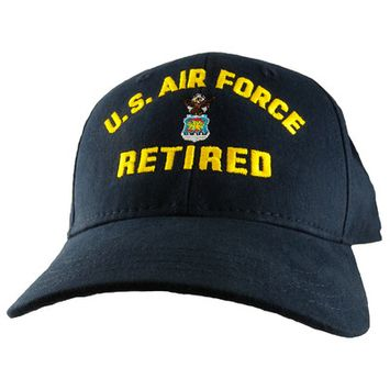Motorhead Products US Military Logo Retired Cap Branch: Air Force