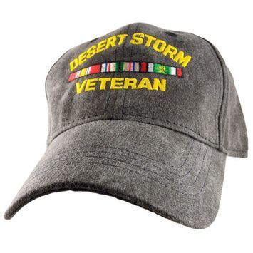 Motorhead Products Veteran Cap Service: Desert Storm