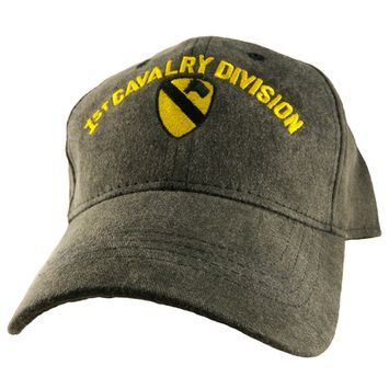 Motorhead Products Division Cap Branch: 1st Cavalry