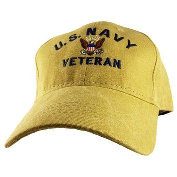 Motorhead Products US Military Veteran Cap Branch: Navy