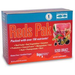 Trace Minerals Research Reds Pak - 30 Packets