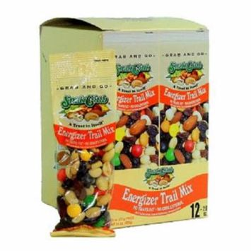 SNAK CLUB TUBE ENERGIZER TRAIL MIX 2 oz Each ( 12 in a Pack )