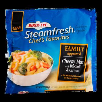 Birds Eye Steamfresh Chef's Favorites Cheesy Mac With Broccoli & Carrots