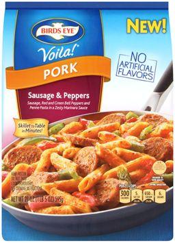 birds eye® voila!® pork sausage & peppers