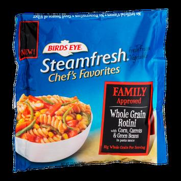 Birds Eye Steamfresh Chef's Favorites  Whole Grain Rotini With Corn, Carrots & Green Beans