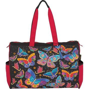 Laurel Burch Butterflies Travel Bag Multi - Laurel Burch Travel Duffels