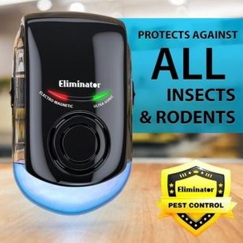 Ultrasonic Pest Repeller by Eliminator Uses Wall Penetrating Electro-Mag Waves