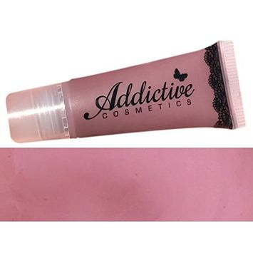 Mauve Lip Gloss by Addictive Cosmetics- Moisturizing and Waterproof- Vegan Makeup Cruelty Free Cosmetics- Made in the USA- NATIVE