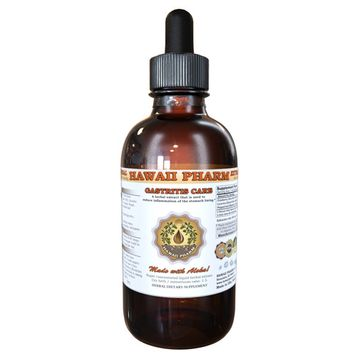 Gastritis Care Tincture, Cranberry (Vaccinium Macrocarpon) Dried Berry, Licorice (Glycyrrhiza Glabra) Dried Root, Peppermint (Mentha X Piperita) Dried Leaf Liquid Extract, Herbal Supplement 2 oz