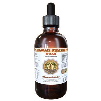 Woad (Isatis Indigotica) Tincture, Dried Leaf Liquid Extract, Da Qing Ye, Folium Isatidis, Herbal Supplement 2 oz