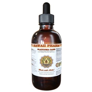 Glaucoma Care Tincture, Green Tea (Camellia Sinensis) Dried Leaf, Ginkgo (Ginkgo Biloba) Dried Leaf and Nuts, Bilberry (Vaccinium Myrtillus) Dried Berry Liquid Extract, Herbal Supplement 2 oz