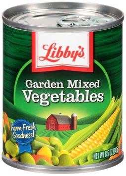 Libby's® Garden Mixed Vegetables