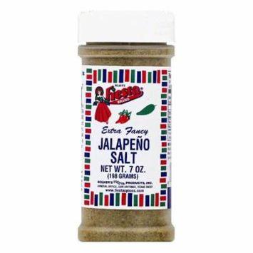 Fiesta Extra Fancy Jalapeno Salt, 7 OZ (Pack of 6)