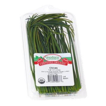 Goodness Greeness Chives Herbs - Organic