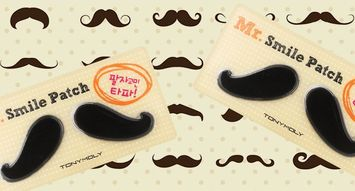Weird Product Alert: Mr. Charlie's Smile Line Patch