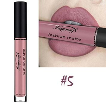 Aurorax MISS YOUNG Liquid Lipstick Soft Matte Long-Lasting Lip Gloss