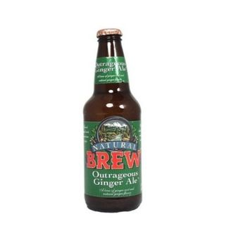 Natural Brew Outrageous Ginger Ale, 4 Pack