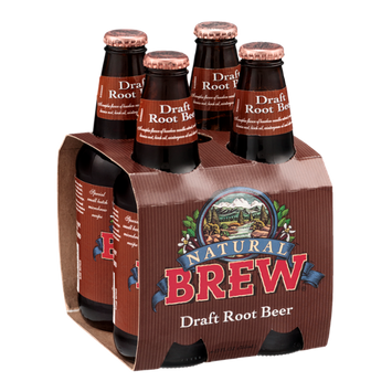 Natural Brew Draft Root Beer - 4 CT