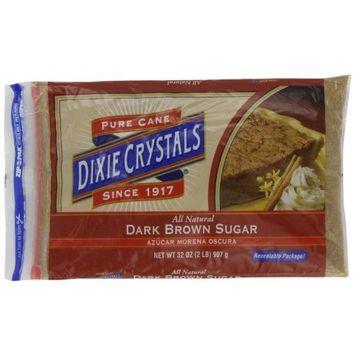 Dixie Crystals ® Dixie Crystals Dark Brown Sugar, 2-Pound (Pack of 6)