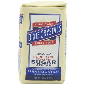 Dixie Crystals ® Dixie Crystals Extra Fine Granulated Sugar, 2-Pound (Pack of 5)