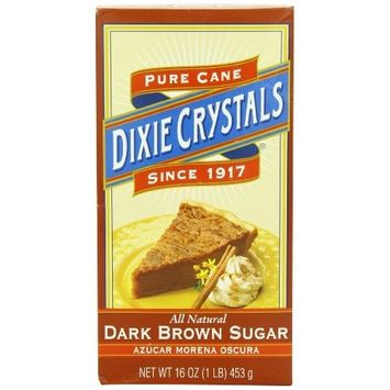 Dixie Crystals ® Dixie Crystals Dark Brown Sugar, 1-Pound (Pack of 8)