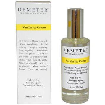 Vanilla Ice Cream Demeter 4 ozCologne Spray Women