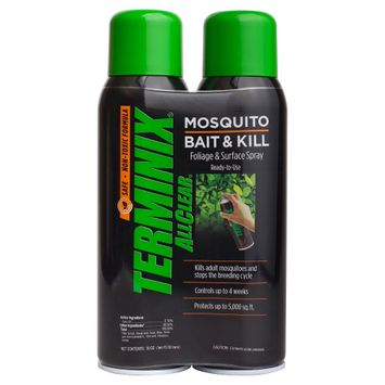 Insect Yard Repellents: Terminix AllClear Mosquito Bait & Kill Spray