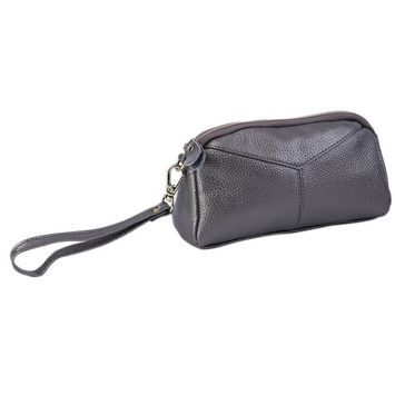 Fashionable Women PU Leather Handbags Solid Color Casual Wallet Storage Bag Lady Female Clutches Handbag Best Gift